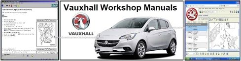 Vauxhall workshop service repair manuals download