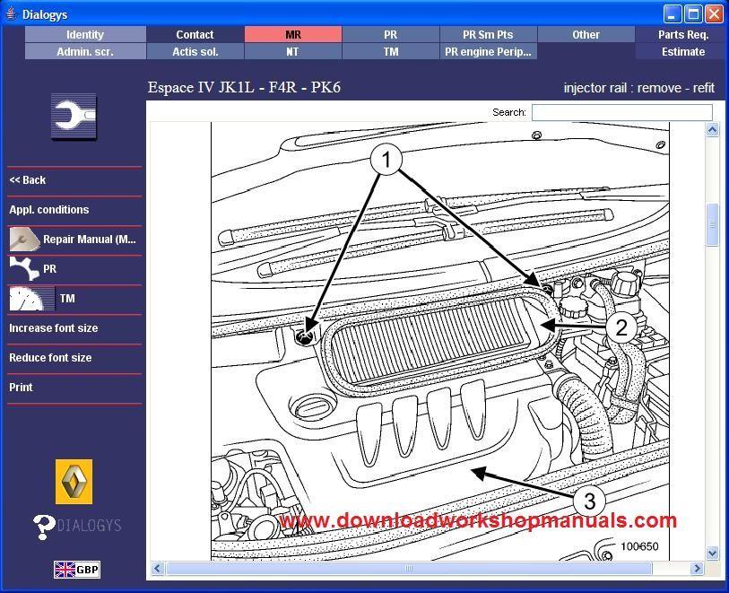 renault megane wiring diagram free download renault espace workshop service repair manual download