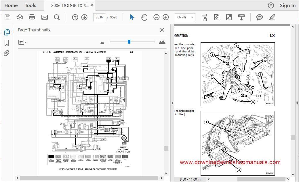 Dodge Magnum Workshop Repair Manual Download