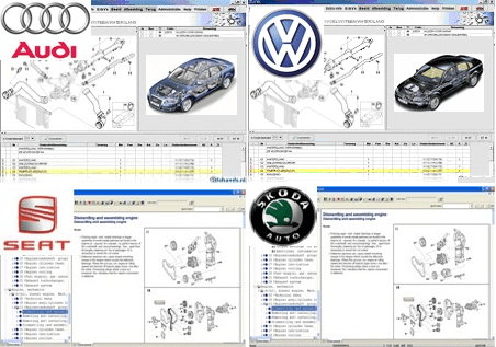 audi workshop service repair manual download