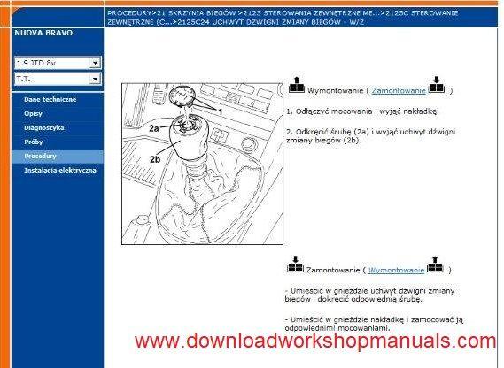 Fiat New Bravo Workshop Repair Manual