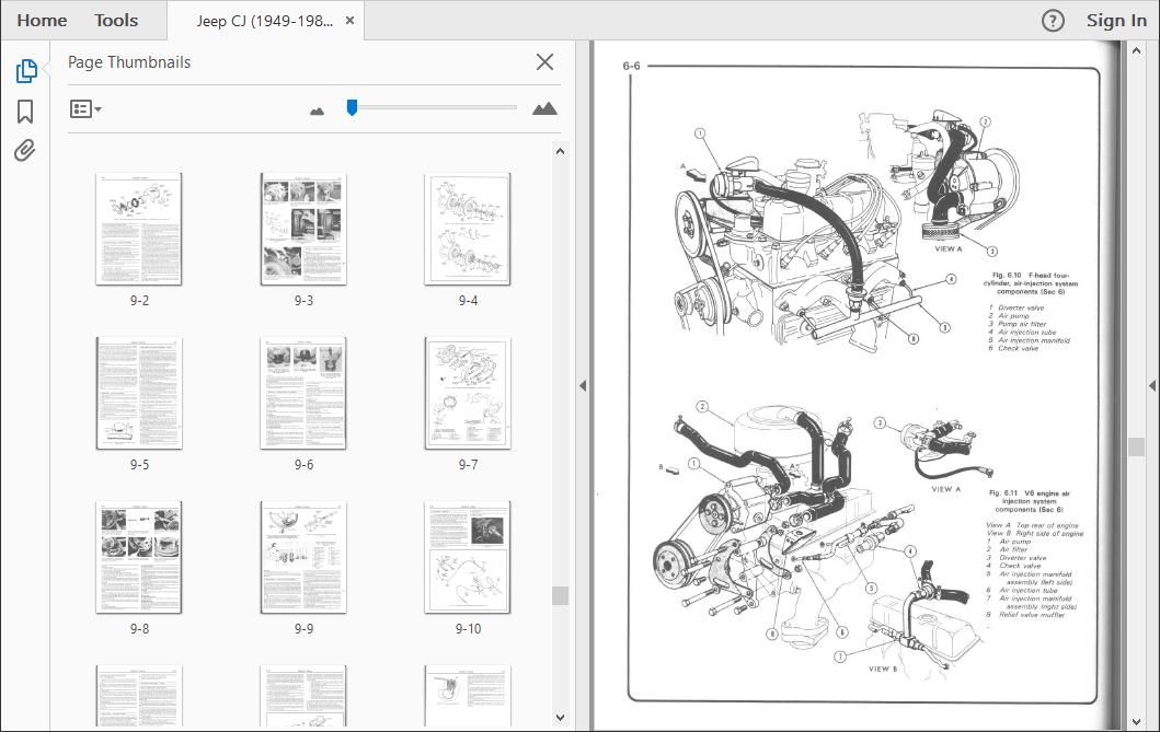 Jeep Cj Workshop Repair Manual Download