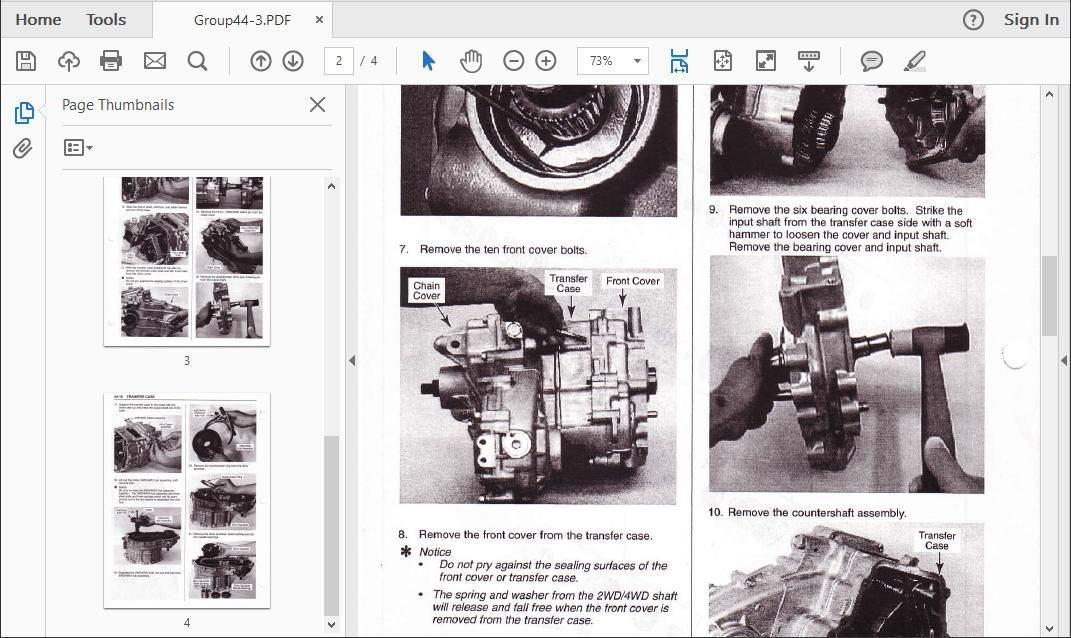 Kia Sportage 1993 To 2008 Workshop Repair Manual