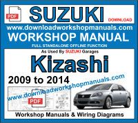 Suzuki Kizashi Workshop Repair Manual
